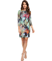Karen Kane - Floral Canvas Sheath Dress