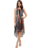 Karen Kane - Modern Art Hi-Lo Dress