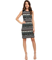 Karen Kane - Contrast Jacquard Dress