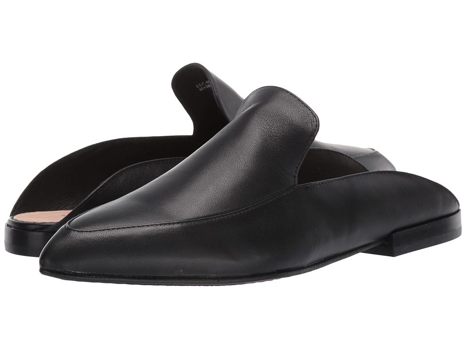 Kristin Cavallari Capri Mule (Black Leather) Slip-On Shoes