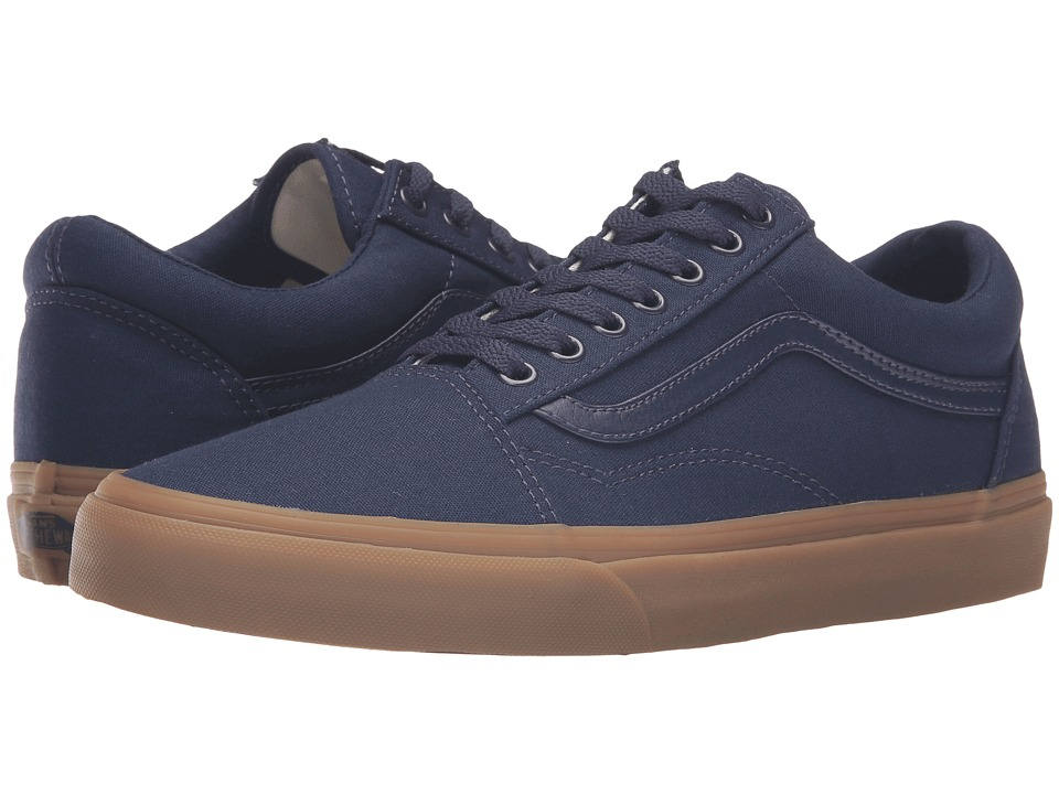 Vans Old Skool X Gum Pack ((Canvas Gum) Eclipse/Light Gum) Skate Shoes