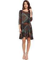 Karen Kane - Tile Mosaic Maggie Trapeze Dress