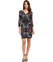 Karen Kane - Abstract Kaleidoscope Sheath Dress