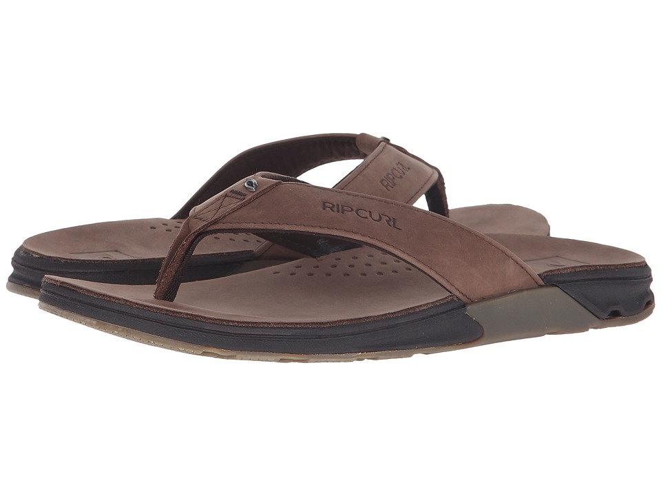 Rip Curl - Ultimate Leather (Brown) Men's Sandals