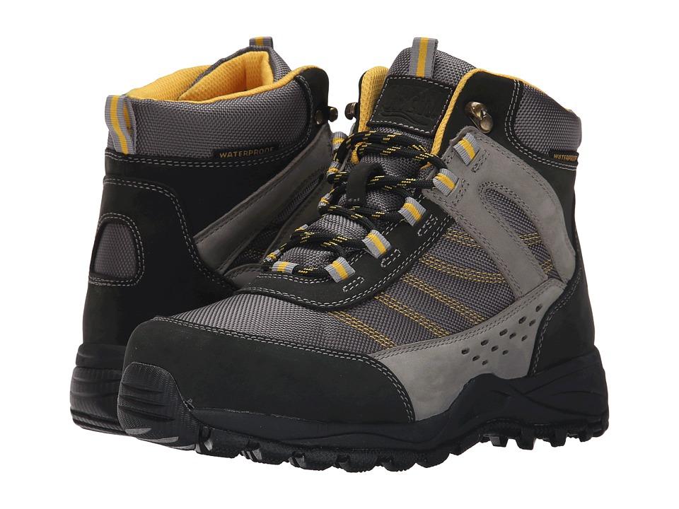 Drew Glacier Black /Grey NuBuck/Yellow Trim Womens Hiking Boots