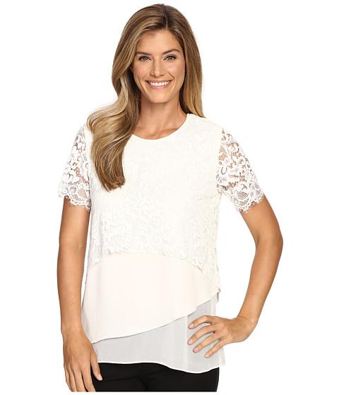 Karen Kane Multi-Layer Lace Top