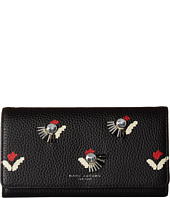 Marc Jacobs - Embellished Tulip Flap Continental