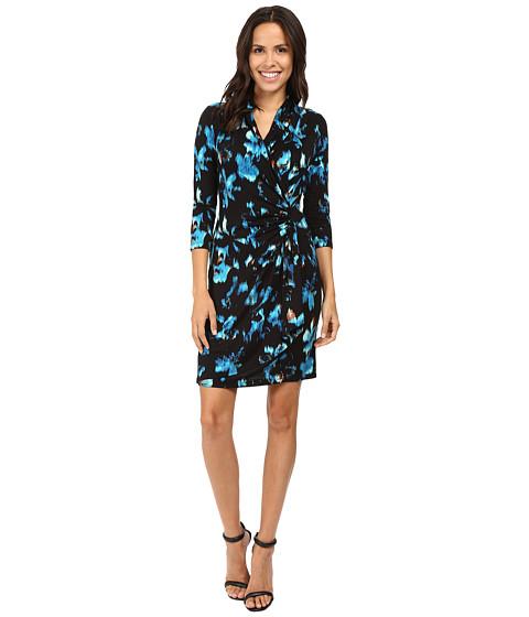 Karen Kane Costa Maya Cascade Wrap Dress