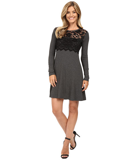 Karen Kane Scallop Lace Overlay Dress