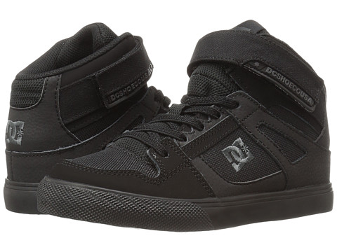 DC Kids Spartan High EV (Big Kid) - Black/Black/Black