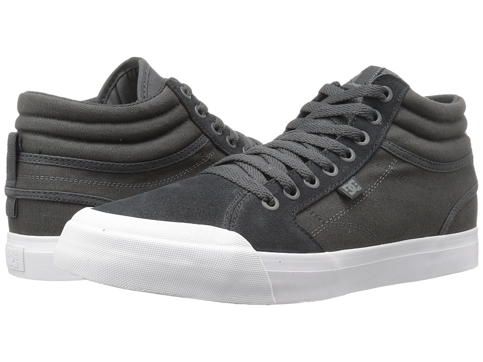 DC Evan Smith Hi SD (Dark Grey/White) Men
