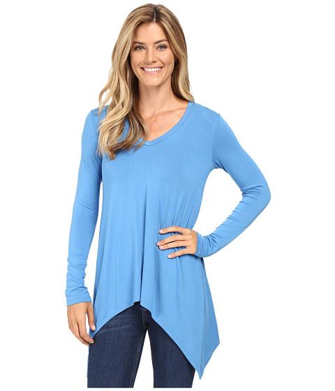 Karen Kane V-Neck Handkerchief Tunic