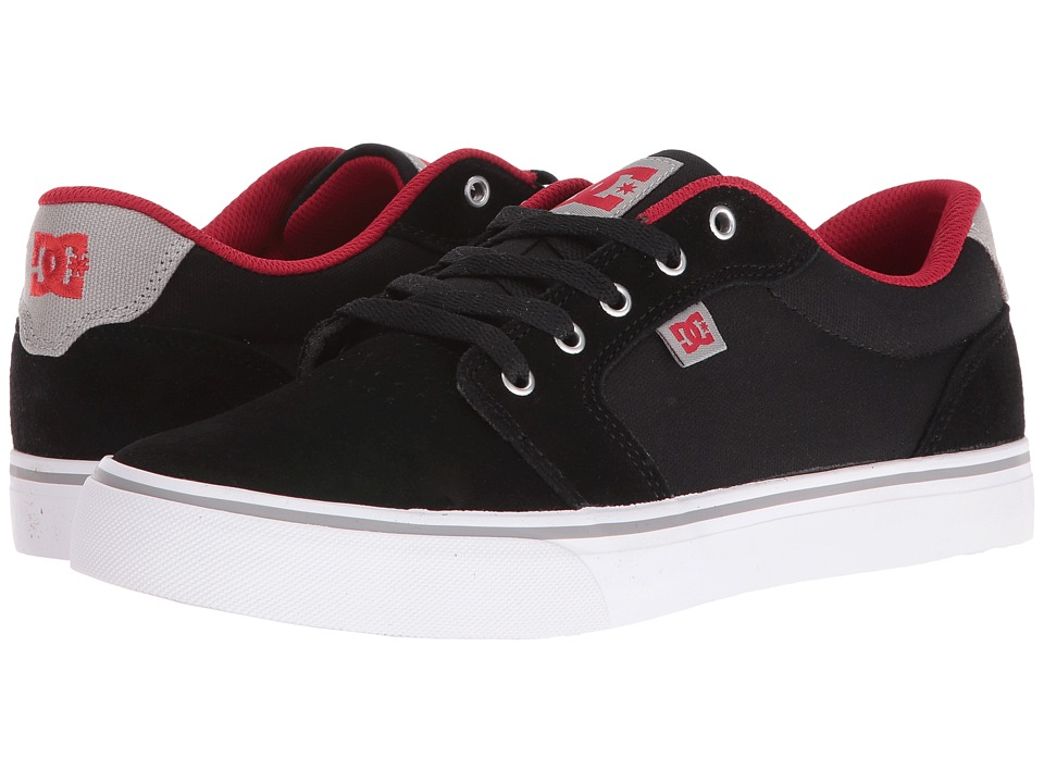 DC Anvil (Black/Red/Grey) Men