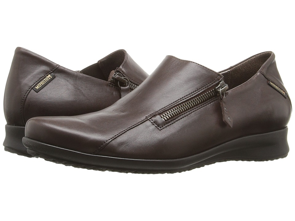Mephisto Faye (Dark Brown Silk) Women