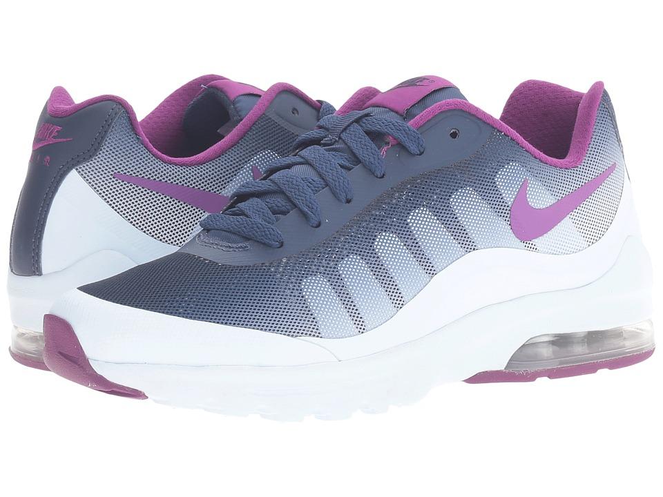 Nike - Air Max Invigor Print (Blue Tint/Bright Grape/Midnight Navy) Womens Classic Shoes