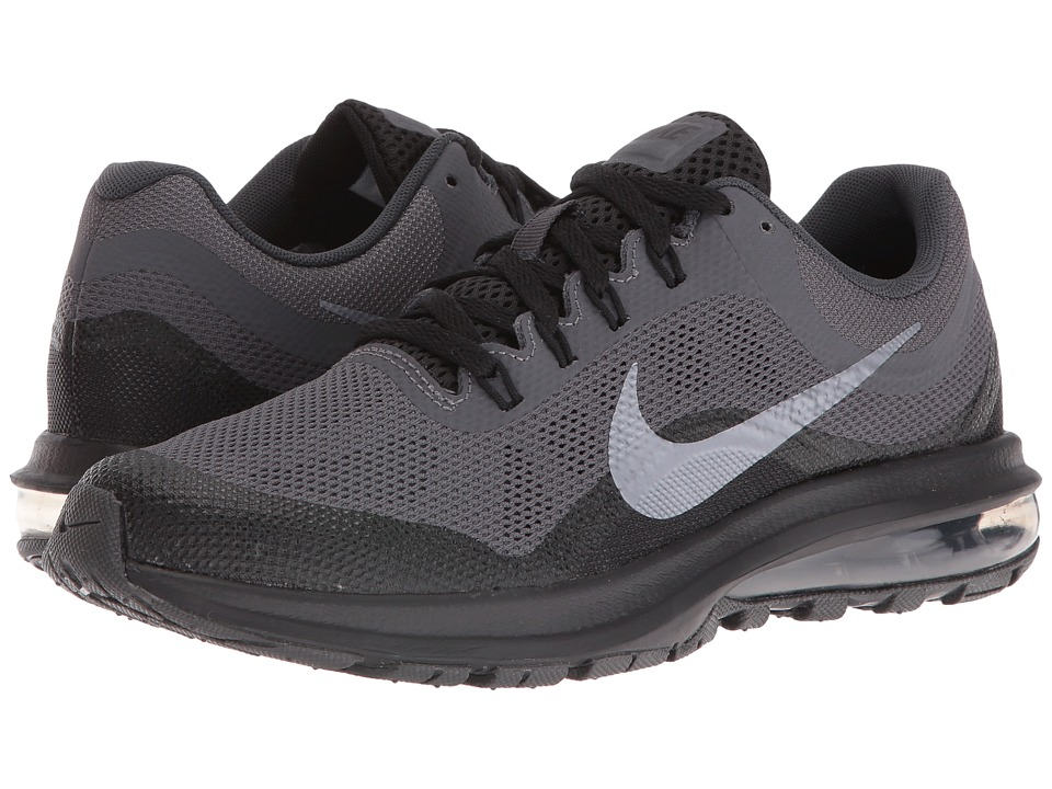 Nike Kids Air Max Dynasty 2 (Big Kid) (Anthracite/Black/Dark Grey/Metallic Cool Grey) Boys Shoes