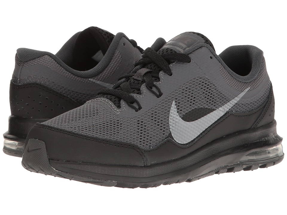 Nike Kids Air Max Dynasty 2 (Little Kid) (Anthracite/Black/Dark Grey/Metallic Cool Grey) Boys Shoes
