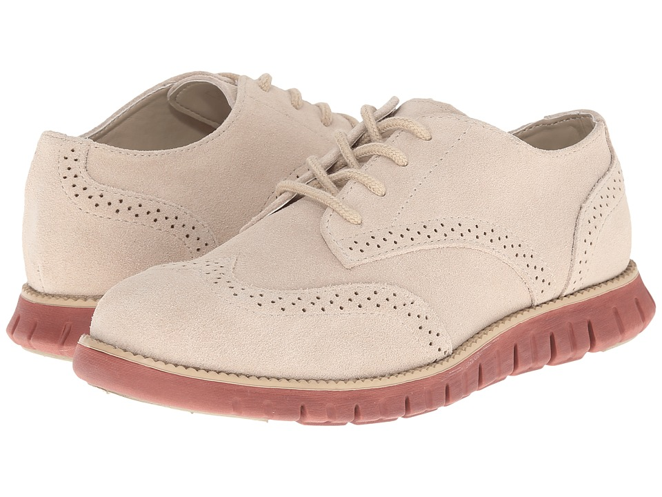 Cole Haan Kids - Zerogrand Oxford (Little Kid/Big Kid) (Khaki/Clay) Boys Shoes