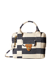 Tommy Hilfiger - Striped Canvas - Dome Satchel
