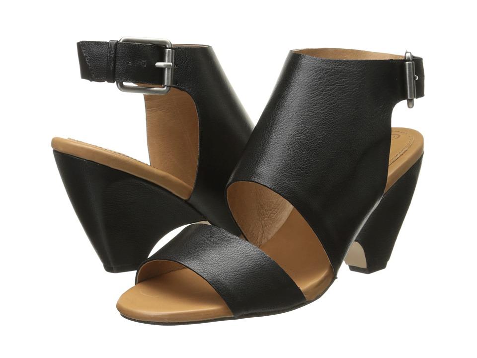 Corso Como Prolar Black Leather High Heels