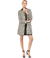 Just Cavalli - Love Cat Print Button Front Runway Jacket