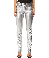 Just Cavalli - Laminated 3D Stretch Five-Pocket Runway Denim