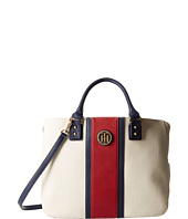 Tommy Hilfiger - Alexa with Overlay - Canvas Shopper