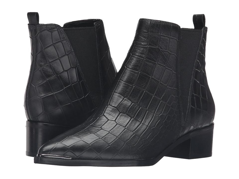 Marc Fisher LTD - Yale (Black Croc) Women