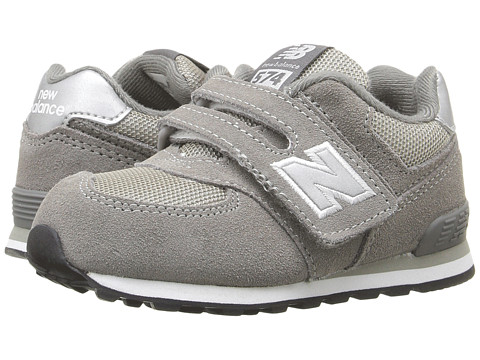 New Balance Kids KG574 (Infant/Toddler) - Grey