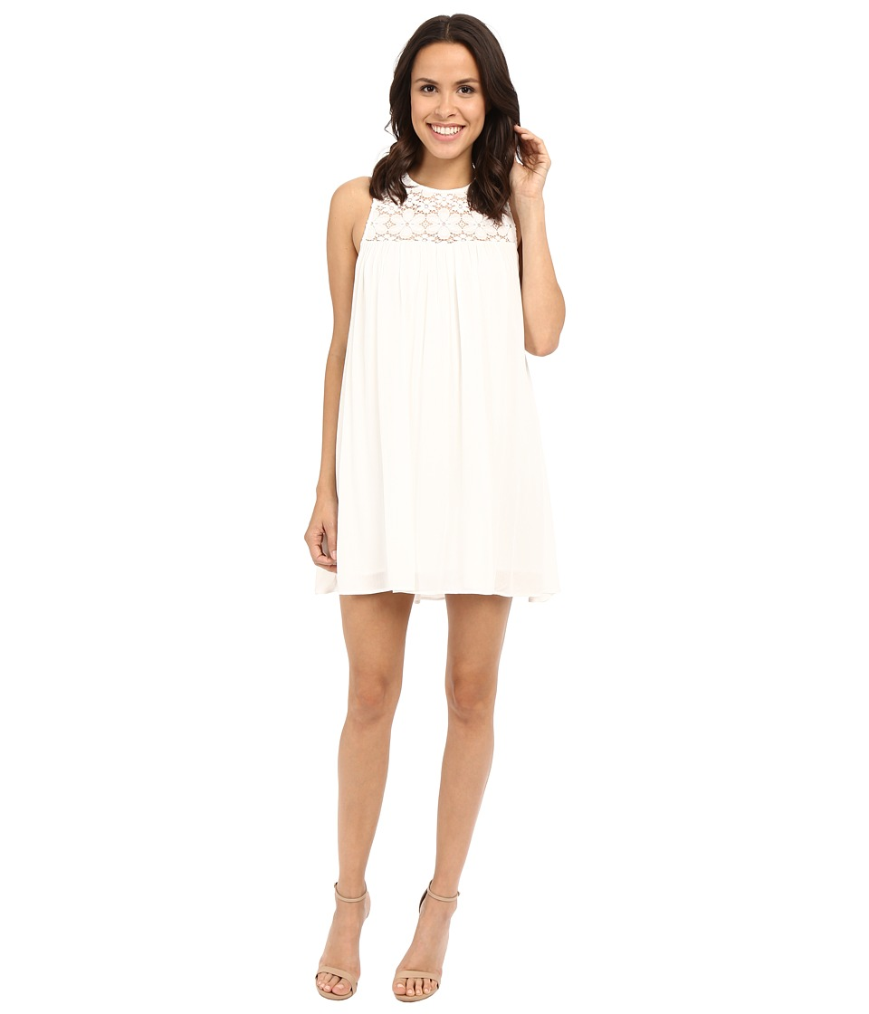 Show Me Your Mumu Eden Babydoll Dress White Cloud Womens Dress
