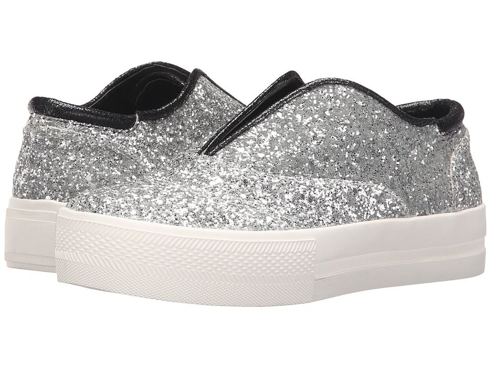 Michael Antonio Druce Glitter Silver Womens Shoes