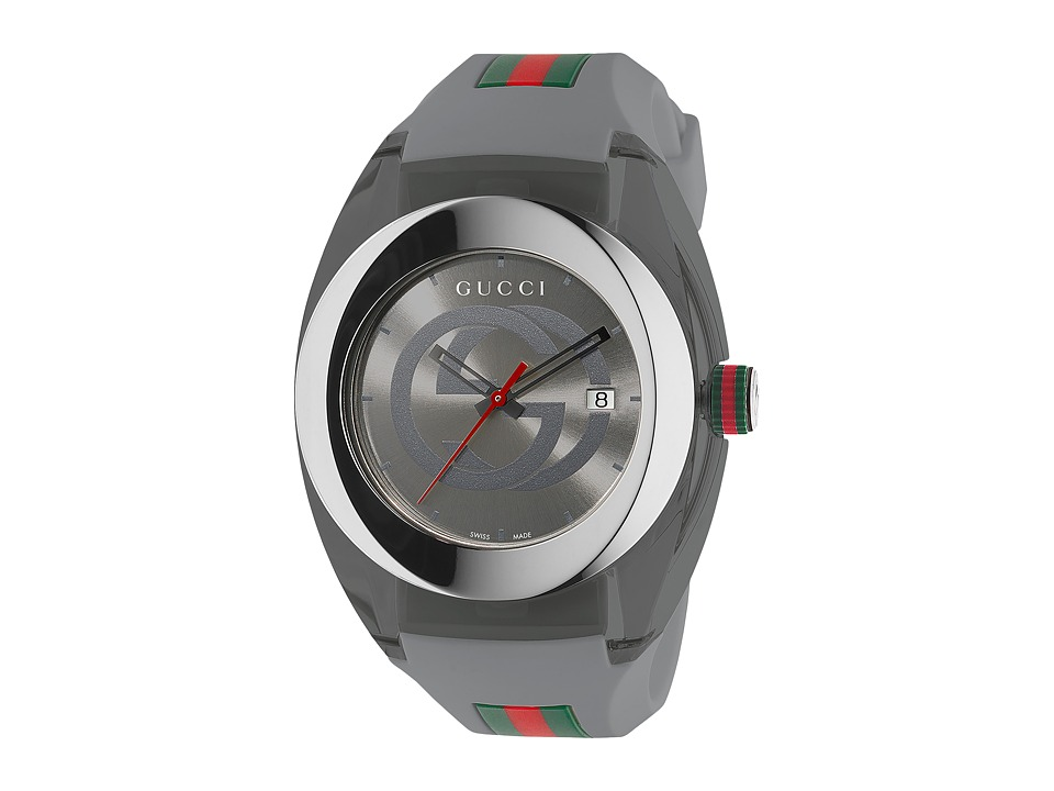 Gucci SYNC 46mm YA137109 Gray Watches