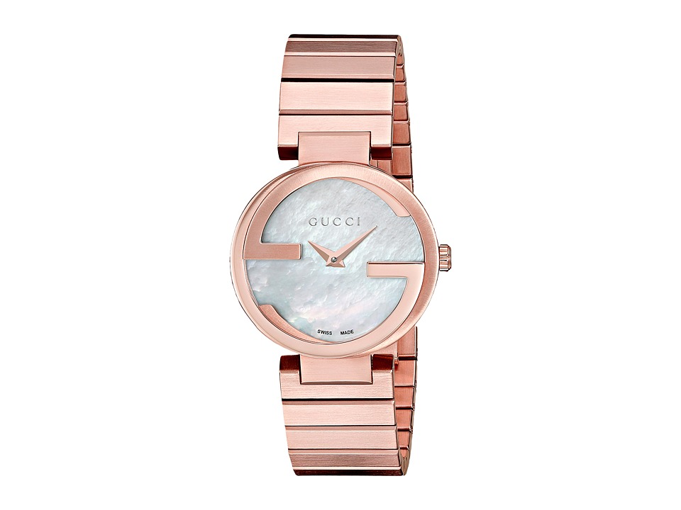 Gucci Interlocking YA133515 Rose Watches