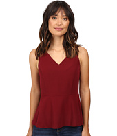 kensie - Mini Checker Crepe Top KS9K4654