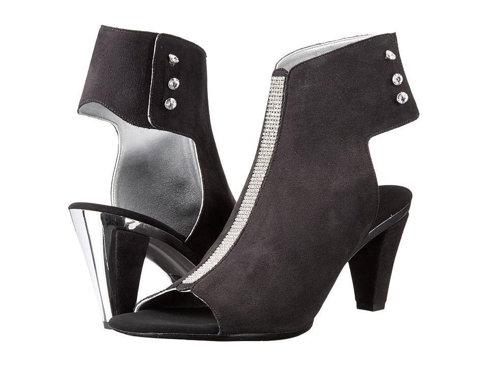 Onex Tux (Black Suede) High Heels