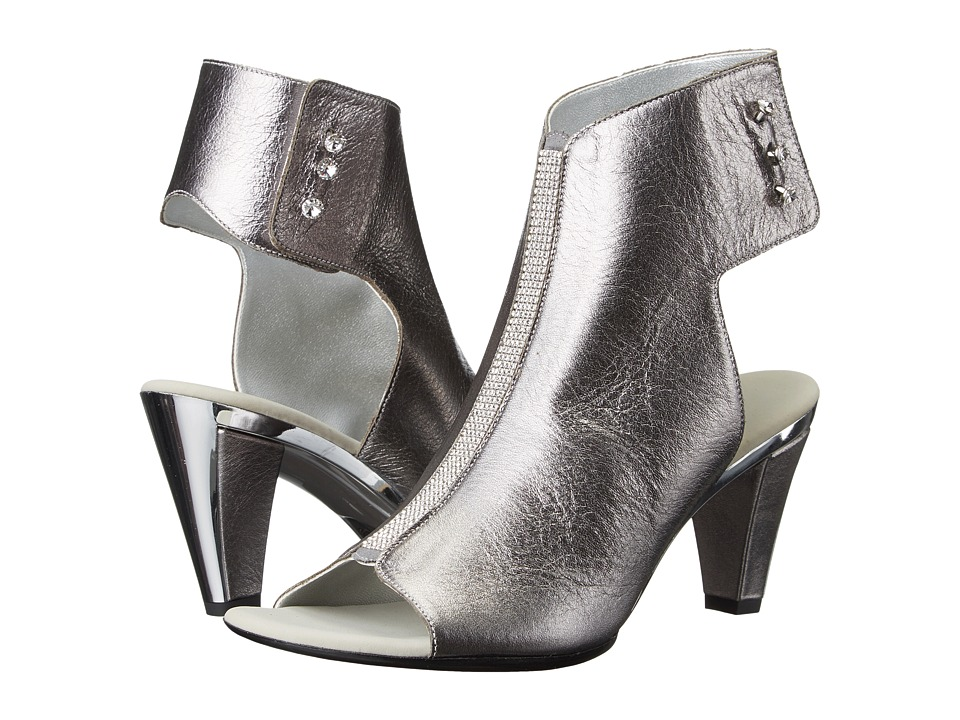 Onex Tux (Pewter Leather) High Heels