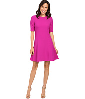 Ellen Tracy - Seamed Flounce Dress