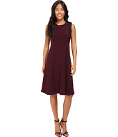 Ellen Tracy - Lace Inset Soft Flare Dress
