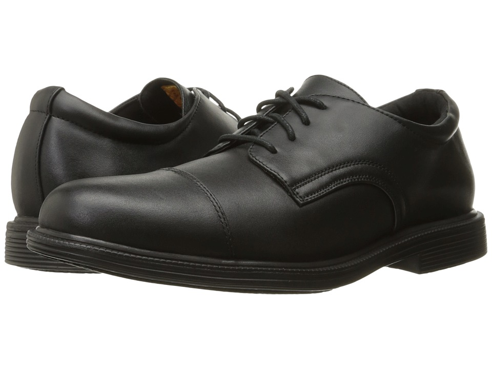 SKECHERS Work Gretna Gering (Black Leather) Men