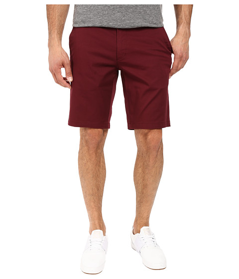 RVCA The Week-End Stretch Shorts - Tawny Port