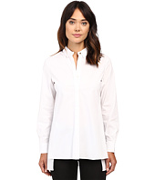 Ellen Tracy - Stepped Hem Shirt