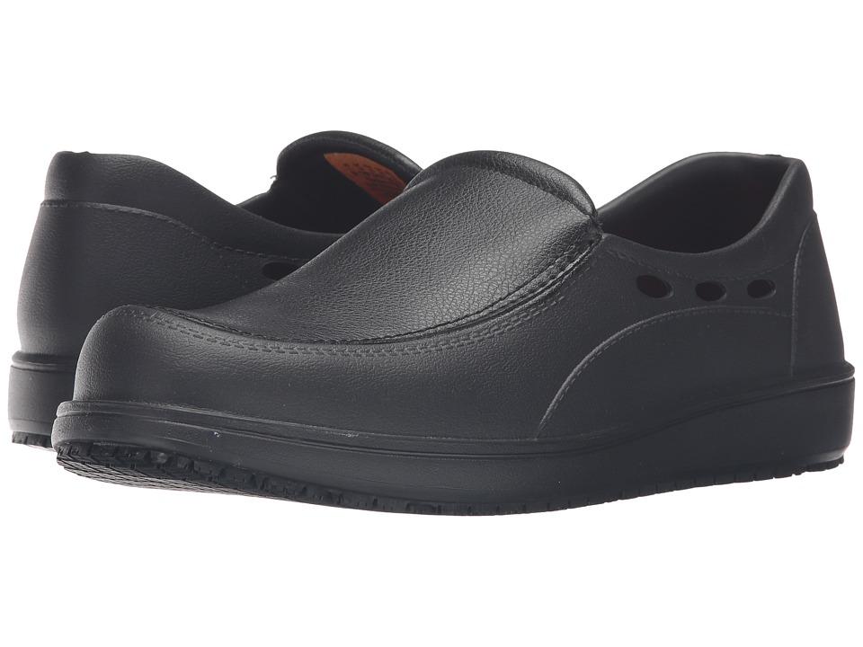 SKECHERS Work Molded EVA Slip-On w/ Synthetic (Black EVA) Men's Work Boots