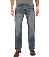Rock and Roll Cowboy - Pistol Straight Leg in Medium Wash M1P7429