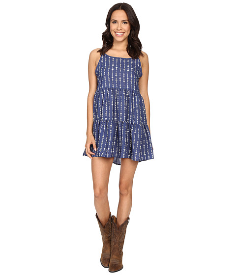 Rock and Roll Cowgirl Spaghetti Strap D5-7671
