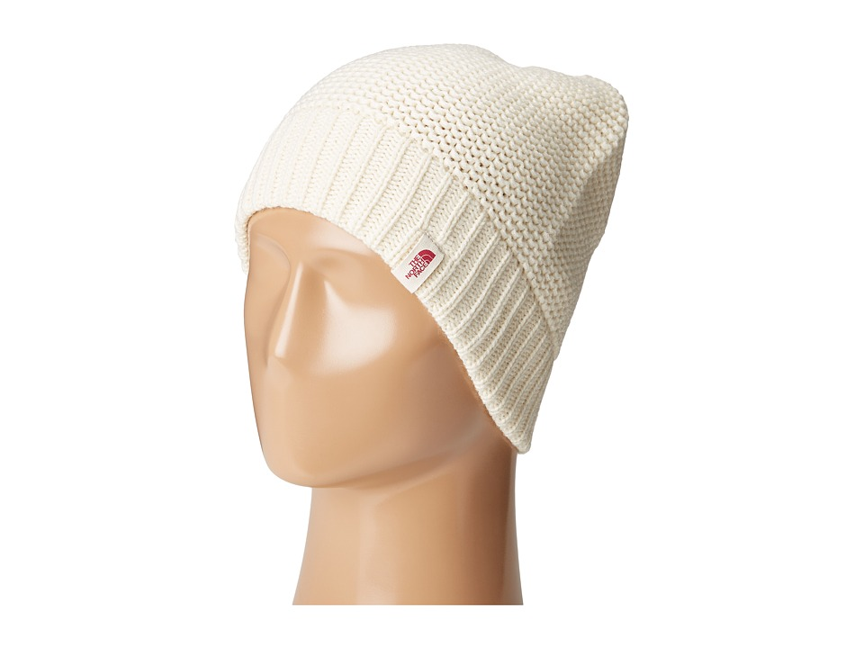 The North Face - Purrl Stitch Beanie (Vintage White) Beanies