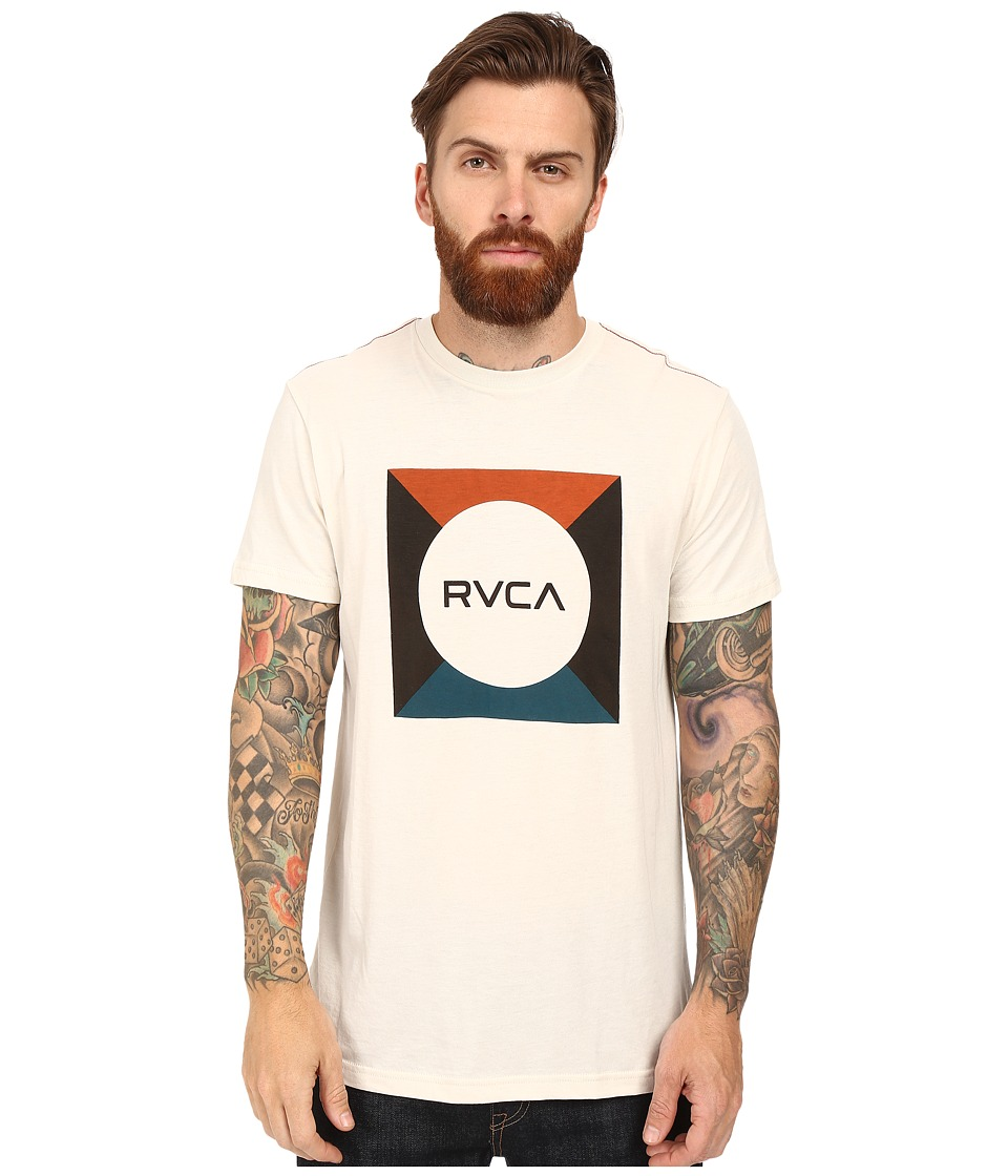 RVCA - Basic Box Tee (Almond Tea) Men