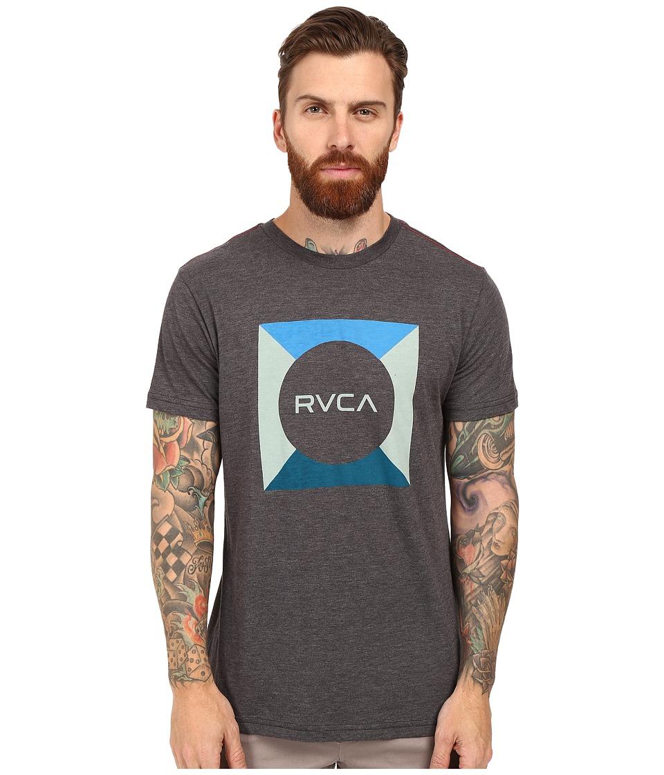 RVCA - Basic Box Tee (Black) Men