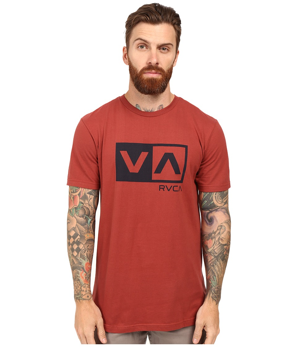 RVCA - Balance Box Tee (Brick Red) Men