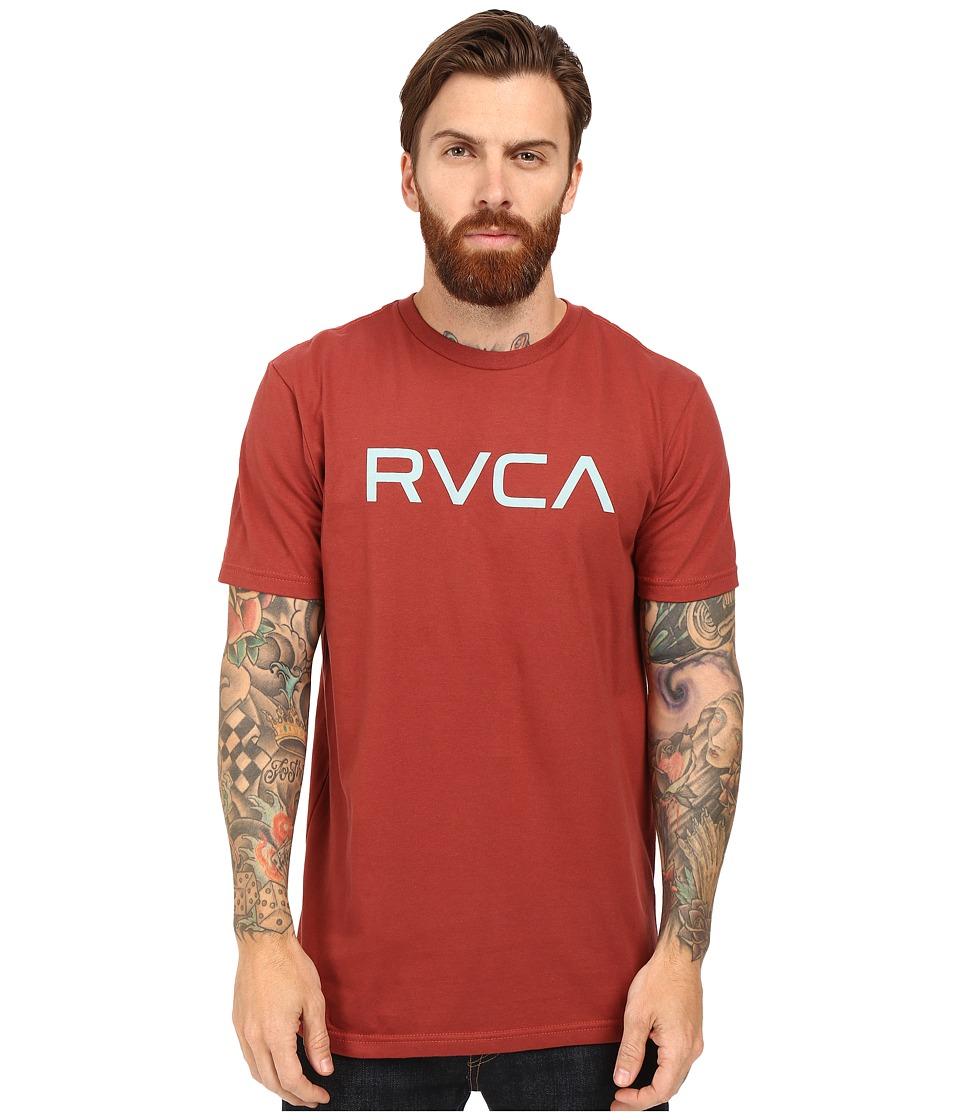 RVCA - Big Tee (Brick Red) Men