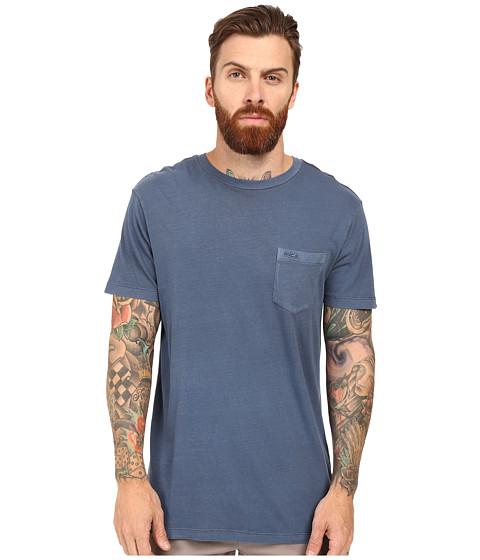 RVCA PTC 2 Pigment Knit Tee - Dark Denim